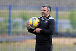 St Johnstone Pre-Season Training...28.06.21<br />Manager Callum Davidson pictured during the first day of pre-season training<br />Picture by Graeme Hart.<br />Copyright Perthshire Picture Agency<br />Tel: 01738 623350  Mobile: 07990 594431
