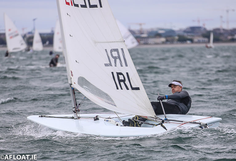 DBSC Laser sailor Ross O'Leary