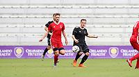 Orlando, Florida - Saturday January 13, 2018: Tim Kubel and Sam Gainford. Match Day 1 of the 2018 adidas MLS Player Combine was held Orlando City Stadium.