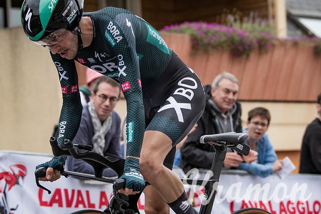 Emanuel Buchmann (DEU/BORA - hansgrohe)<br /> <br /> Stage 5 (ITT): Time Trial from Changé to Laval Espace Mayenne (27.2km)<br /> 108th Tour de France 2021 (2.UWT)<br /> <br /> ©kramon
