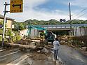 Torrential rain caused flooding in western Japan
