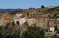 Europe/France/Auvergne/43/Haute-Loire/Vieille Brioude: L'église d'origine romane Saint Vincent XIIème siècle