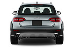 Straight rear view of 2013-2016 Audi A4 Allroad Premium Quattro 4 Door Wagon stock images