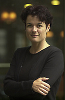 August 2002 File Photo of film maker Manon Briand (La Turbulence des Fluides) Photo by Pierre Roussel<br /> <br /> <br /> PHOTO :  Agence Quebec Presse