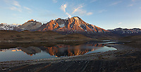 Torres del Paine is a great place for both wildlife and landscape photography.  This is a stitched panorama.