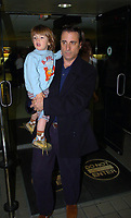 MIAMI, FL - FEBRUARY 03:  Actor Andy Garcia with his family arrives at Miami International Airport on February 3, 2005 in Miami, Florida.<br /> <br /> People:  Andy Garcia