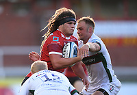 5th September 2020; Kingsholm Stadium, Gloucester, Gloucestershire, England; English Premiership Rugby, Gloucester versus London Irish; Jordy Reid of Gloucester takes the ball into contact