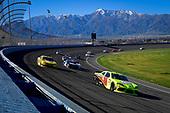 #19: Brandon Jones, Joe Gibbs Racing, Toyota Supra Menards, #8: Ryan Preece, JR Motorsports, Chevrolet Camaro Velveeta Shells and Cheese, #39: Ryan Sieg, RSS Racing, Chevrolet Camaro RSS Racing
