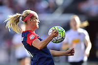 Houston, TX - Sunday Oct. 09, 2016: Megan Oyster during a National Women's Soccer League (NWSL) Championship match between the Washington Spirit and the Western New York Flash at BBVA Compass Stadium.