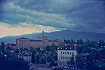 Mt. Vitosha from Velchova Zavera Square