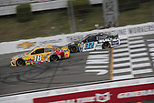 #18: Kyle Busch, Joe Gibbs Racing, Toyota Camry M&M's Mini's #32: Corey LaJoie, Go FAS Racing, Built Bar Ford Mustang