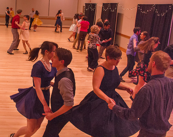 Dance at University of Colorado, April 2015.