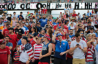 East Hartford, CT - Saturday July 01, 2017: USA supporters during an international friendly game between the men's national teams of the United States (USA) and Ghana (GHA) at Pratt & Whitney Stadium.