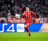 05.12.2017, Football UEFA Champions League 2017/2018,  , 6. match day, FC Bayern Muenchen - Paris Saint Germain, in Allianz-Arena Muenchen, James Rodriguez (FC Bayern Muenchen) . *** Local Caption *** © pixathlon<br /> <br /> +++ NED + SUI out !!! +++<br /> Contact: +49-40-22 63 02 60 , info@pixathlon.de