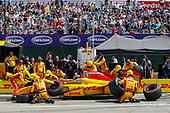 Verizon IndyCar Series<br /> Chevrolet Detroit Grand Prix Race 2<br /> Raceway at Belle Isle Park, Detroit, MI USA<br /> Sunday 4 June 2017<br /> Ryan Hunter-Reay, Andretti Autosport Honda<br /> World Copyright: Jake Galstad <br /> LAT Images