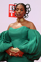 LOS ANGELES - JUN 27:  Mereba at the BET Awards 2021 Arrivals at the Microsoft Theater on June 27, 2021 in Los Angeles, CA