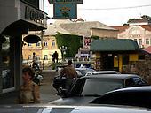 Uzhgorod, Ukraine.June 8, 2005 ..General scenes of city center..