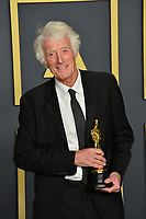 LOS ANGELES, USA. February 09, 2020: Roger Deakins at the 92nd Academy Awards at the Dolby Theatre.<br /> Picture: Paul Smith/Featureflash