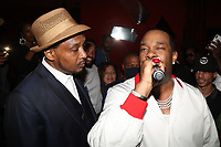 NEW YORK, NY- SEPTEMBER 12: Super Cat and Busta Rhymes pictured at Swizz Beatz Surprise Birthday Party at Little Sister in New York City on September 12, 2021. Credit: Walik Goshorn/MediaPunch