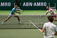 Rotterdam, The Netherlands, 14 Februari 2019, ABNAMRO World Tennis Tournament, Ahoy, Semis, Doubles,<br /> Marcel Granollers (ESP) Nikola Mektic (CRO),<br /> Photo: www.tennisimages.com/Henk Koster