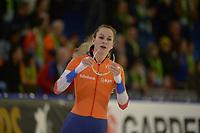 SPEEDSKATING: HEERENVEEN: 10-01-2020, IJsstadion Thialf, European Championship distances, 1500m Ladies, Melissa Wijfje (NED), ©foto Martin de Jong