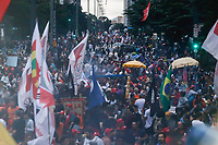 SÃO PAULO, SP, 22.03.2019: PROTESTO-SP - Ato contra a reforma da previdência em São Paulo, nesta sexta-feira (22), realizado na avenida Paulista. (Foto: Carla Carniel/Código19)