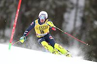 21st December 2020; Alta Badia Ski Resort, Dolomites, Italy; International Ski Federation World Cup Slalom Skiing; Dave Ryding (GBR)