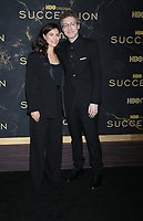 """October 12, 2021.Nicholas Britell, Caitlin Sullivan attend HBO's """"Succession"""" Season 3 Premiere at the  American Museum of Natural History in New York October 12, 2021 Credit: RW/MediaPunch"""