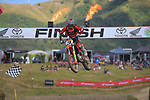 Hamish Harwood wins Grand Prix MX1 race one. 2021 New Zealand Motocross Grand Prix at Old Gorge Road in Woodville , New Zealand on Sunday, 31  January 2021. Photo: Dave Lintott / lintottphoto.co.nz