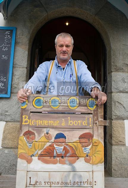 Europe/France/Bretagne/56/Morbihan/Le Pô , Carnac : Marc Brosolo  - La Calypso Restaurant
