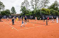Amstelveen, Netherlands, 6 Juli, 2021, National Tennis Center, NTC, Amstelveen Womans Open, Kidsday<br /> Photo: Henk Koster/tennisimages.com