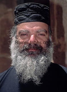 EGY, Aegypten, Sinai: Moench im St. Katharinen-Kloster | EGY, Egypt, Sinai: monk at Saint Catherine's Monastery