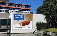 Nederland - Amsterdam -  2020.     VU. Verander fastfood, studeer aan de Vu.   Foto : ANP/ Hollandse Hoogte / Berlinda van Dam