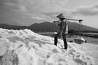 Salt fields - marais salins,<br />  Vietnam