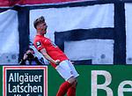 Fussball - 3.Bundesliga - Saison 2020/21<br /> Kaiserslautern -  Fritz-Walter-Stadion 03.04.2021<br /> 1. FC Kaiserslautern (fck)  - FC Halle (hal)<br /> Befreiung für Marvin POURIE(1. FC Kaiserslautern) endlich ist ein Tor gelungen<br /> <br /> Foto © PIX-Sportfotos *** Foto ist honorarpflichtig! *** Auf Anfrage in hoeherer Qualitaet/Aufloesung. Belegexemplar erbeten. Veroeffentlichung ausschliesslich fuer journalistisch-publizistische Zwecke. For editorial use only. DFL regulations prohibit any use of photographs as image sequences and/or quasi-video.