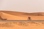 Ty Magner (USA) Rally Cycling in action during Stage 1 of the Saudi Tour 2020 running 173km from Saudi Arabian Olympic Committee to Jaww, Saudi Arabia. 4th February 2020. <br /> Picture: ASO/Kåre Dehlie Thorstad | Cyclefile<br /> All photos usage must carry mandatory copyright credit (© Cyclefile | ASO/Kåre Dehlie Thorstad)