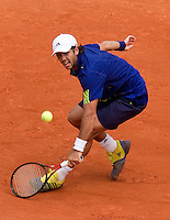 25-05-10, Tennis, France, Paris, Roland Garros, First round match, Fernando Verdasco