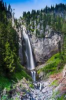 Comet Falls, Mt. Rainier National Park, Washington, US