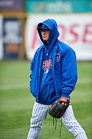 South Bend Cubs pitcher Ethan Roberts (6) during a Midwest League game against the Cedar Rapids Kernels at Four Winds Field on May 8, 2019 in South Bend, Indiana. South Bend defeated Cedar Rapids 2-1. (Zachary Lucy/Four Seam Images)