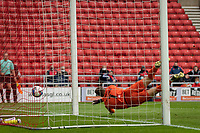22nd May 2021; Stadium of Light, Sunderland, Tyne and Wear, England; English Football League, Playoff, Sunderland versus Lincoln City; Charlie Wyke of Sunderland reaches the cross and scores Sunderland's 2nd goal for 2-0 in the 33rd minute