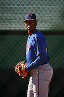 Texas Rangers pitcher Dillon Tate (27) throws a bullpen session during an instructional league game against the San Diego Padres on October 9, 2015 at the Surprise Stadium Training Complex in Surprise, Arizona.  (Mike Janes/Four Seam Images)