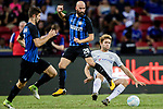 Chelsea Defender Marcos Alonso (R) trips up with FC Internazionale Midfielder Borja Valero (L) during the International Champions Cup 2017 match between FC Internazionale and Chelsea FC on July 29, 2017 in Singapore. Photo by Marcio Rodrigo Machado / Power Sport Images