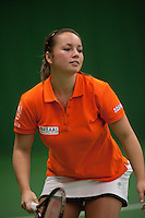 29-1-10, Almere, Tennis, Training Fedcup team,