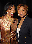 Debbie Tyler Dillard and Davetta Mills Daniels at the NAACP's Hollywood Comes to Houston party at Advantage BMW Thursday  Feb. 12, 2009.(Dave Rossman/For the Chronicle)