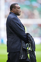Inoke Male, Head Coach of the Flying Fijians, before the QBE International between England and Fiji at Twickenham on Saturday 10th November 2012 (Photo by Rob Munro)