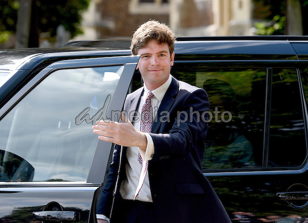05 July 2015 - King's Lynn, United Kingdom - James Meade. The Christening of Princess Charlotte of Cambridge at the Church of St Mary Magdalene on the Sandringham Estate. Photo Credit: Alpha Press/AdMedia