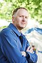 Nathan Coley Artist  at Edinburgh International Book Festival  Literary Festival  2014 CREDIT Geraint Lewis