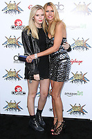LOS ANGELES, CA, USA - APRIL 23: Grace McKagan, Susan Holmes at the 2014 Revolver Golden Gods Award Show held at Club Nokia on April 23, 2014 in Los Angeles, California, United States. (Photo by Xavier Collin/Celebrity Monitor)