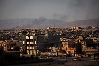 Irak, Juni 2014 - Die irakische Stadt Karakosch beheimatet die letzten Christen im Irak. <br /> <br /> Engl.: Asia, Iraq, North Iraq, conflict area, the city Karakosh domiciled the last Christians in Iraq, June 2014