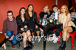 Enjoying the evening in Turners Bar on Friday, l to r: Luke Stack, Aisling Quirke, Rachel Dunne, Chelsea Conway, Conor Gadbury and Nicola Conway.